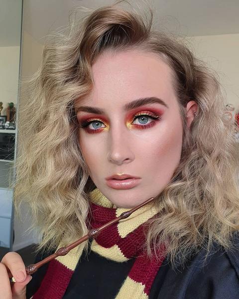 Фото №3 - Вдохновляемся «Гарри Поттером»: крутые макияжи в стиле всех факультетов Хогвартса ✨