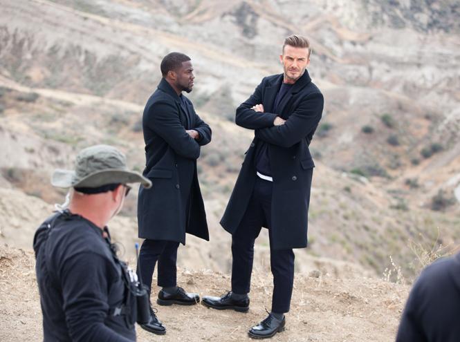 Фото №1 - Дэвид Бекхэм в новом видео для H&M