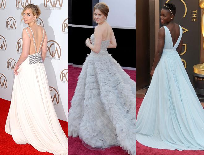 Фото №10 - Как встать, чтобы быть стройнее: позы актрис на «Оскаре»