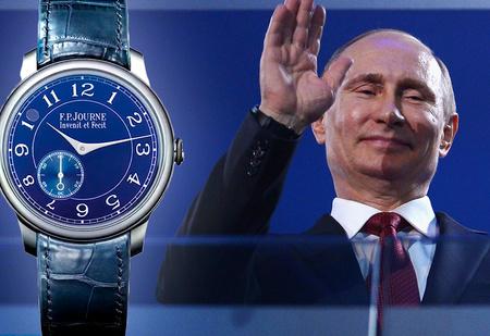 Платиновая пятерка: какие часы носит Путин