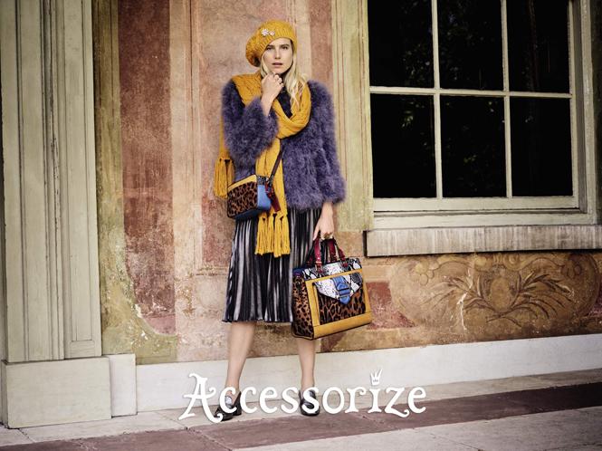 Фото №1 - Accessorize представляет новую рекламную кампанию с Дри Хемингуэй