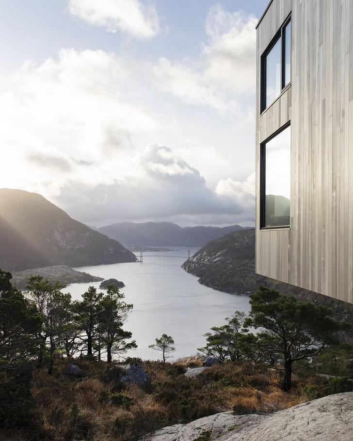 Фото №6 - Микроотель с видом на Люсе-фьорд в Норвегии