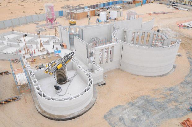 Фото №1 - Как выглядит самое большое напечатанное на 3D-принтере здание
