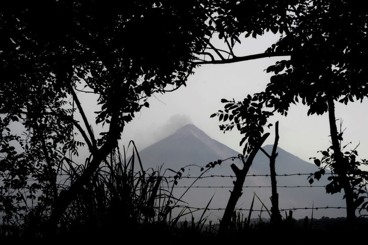 Фото №1 - Извержение вулкана в Гватемале