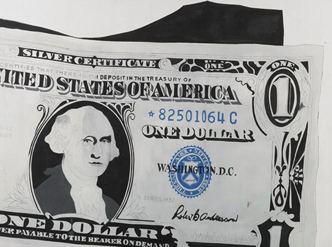Фото №2 - «Один доллар» Энди Уорхола стоит 32,6 миллиона