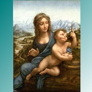 Фото №1 - Найдена картина Леонардо да Винчи