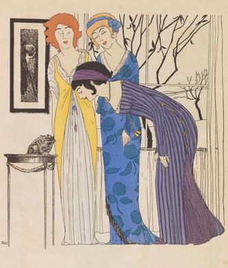 Фото №12 - Король стиля: как Поль Пуаре придумал «хромые юбки», освободил женщин от корсетов и заново изобрел моду