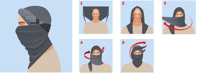 Фото №3 - Как повязывать и носить шемаг (4 способа)
