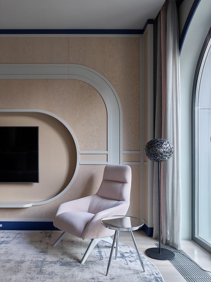 Фото №6 - Квартира 105 м² с необычным дизайном и арочными окнами на ЗилАрт