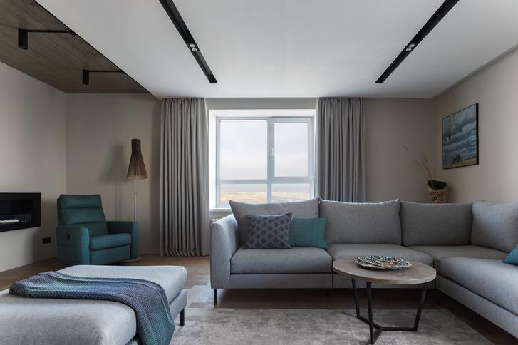 Фото №1 - Квартира в Перми 120 м² с панорамным видом на Каму