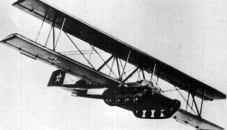 Фото №1 - Броня крепка, а есть еще и крылья!Короткая история летающего танка А-40