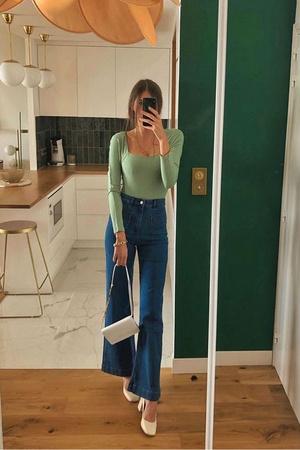 Фото №7 - Самые красивые джинсы 2021: полный гид по актуальным моделям