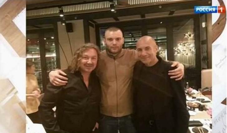 Игорь Крутой с внебрачным сыном Яковом