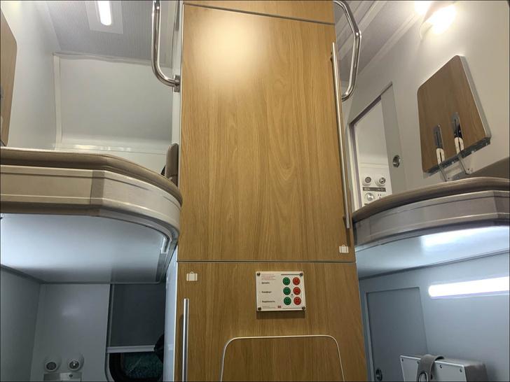 Фото №3 - РЖД показали макет новых плацкартов с отдельным отсеком для каждого пассажира (фото)