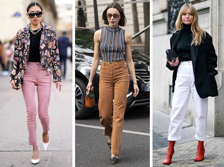 Фото №1 - Вместо классики: 20 пар цветных джинсов, которые заменят синий деним