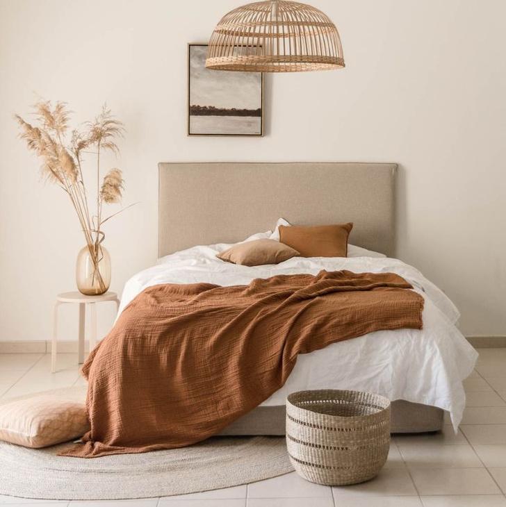 Фото №1 - Стиль джапанди в интерьере спальни: полезные советы