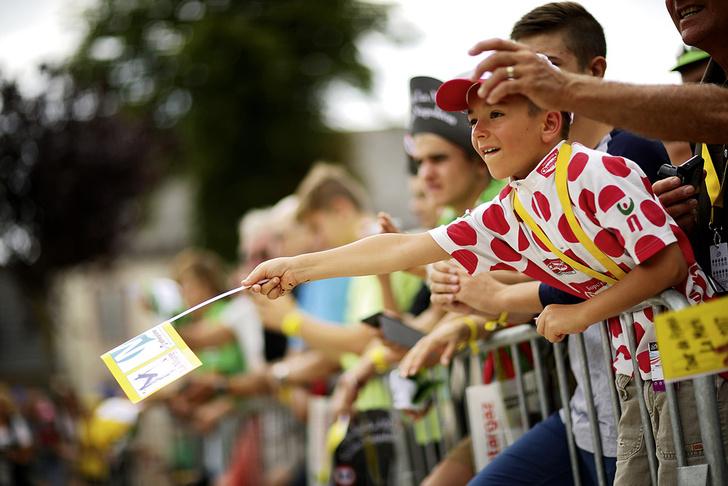 Фото №6 - Среди «горных королей»: репортаж с велогонки «Тур де Франс»