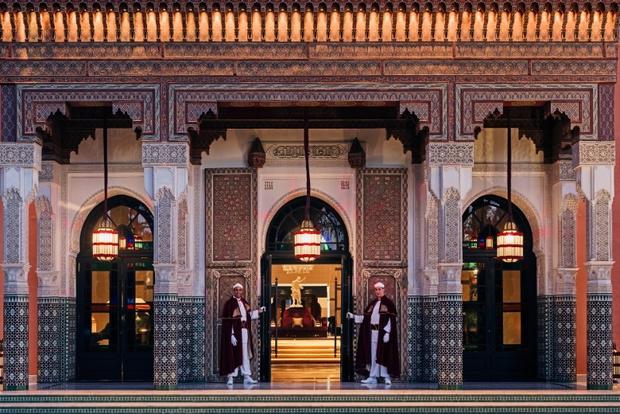 Фото №1 - Отель La Mamounia в Марракеше открылся после реновации