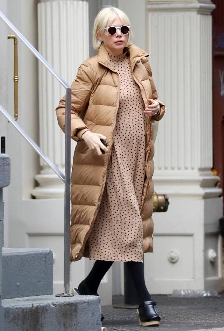 Мишель Уильямс в Нью-Йорке
