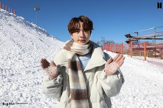 Фото №11 - Снежные ангелы: Big Hit Entertainment выложил 65 новых фото BTS 😍