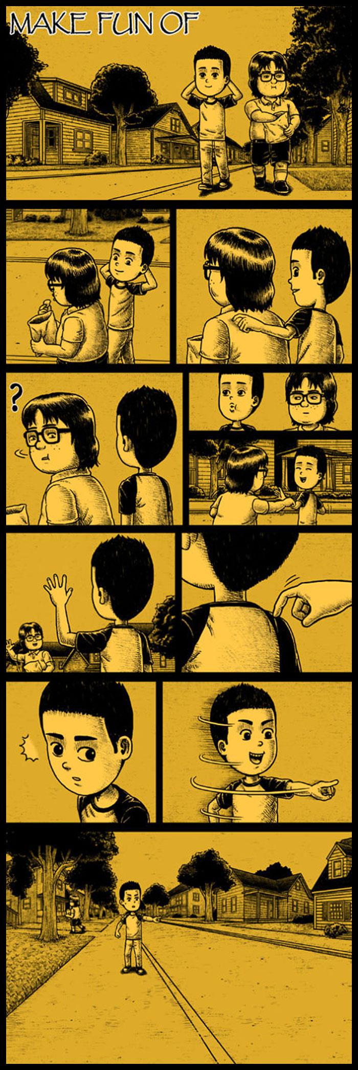 Фото №9 - 30 комиксов с отборным черным юмором от Бена Чена