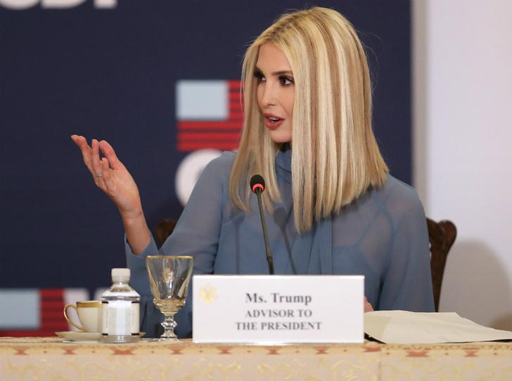 Фото №1 - «Это что, Бритни Спирс?»: в Сети высмеяли новый цвет волос Иванки Трамп