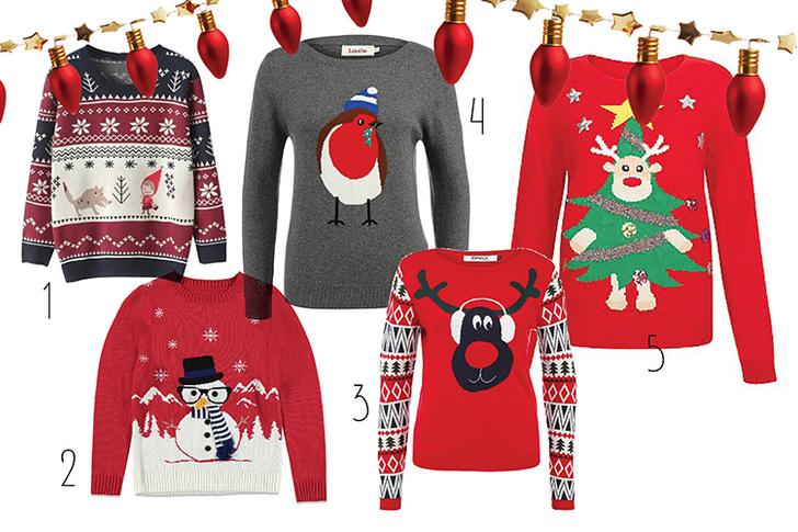 Фото №1 - Топ-10: Рождественские пуловеры