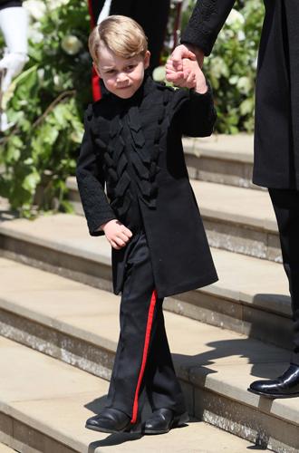 Фото №4 - Подружки и пажи королевских кровей на свадьбах: от принца Джорджа до юной Лилибет