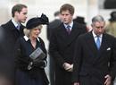 Как Уильям и Гарри отреагировали на помолвку Чарльза и Камиллы
