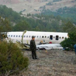 Фото №1 - В Турции упал самолет