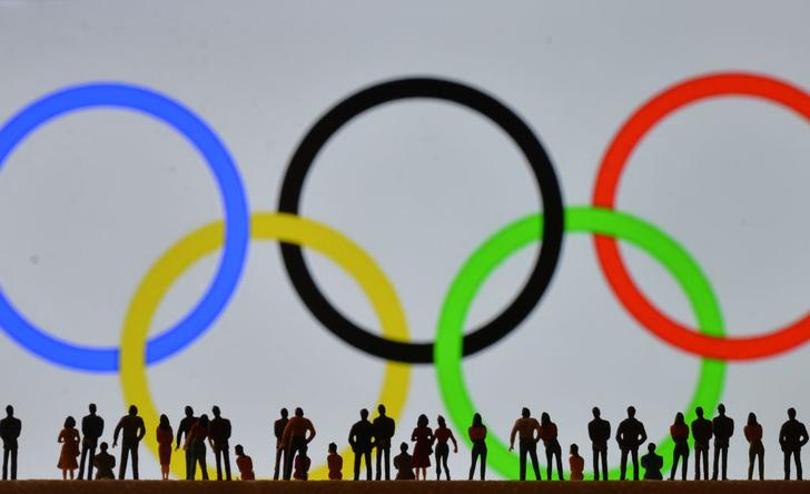 Фото №1 - Пустой зал, песня Миши, «наглые русские»: как прошла церемония открытия Олимпиады в Токио