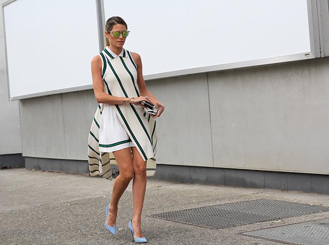 Фото №15 - Образы гостей недели моды в Нью-Йорке в прошедшие выходные
