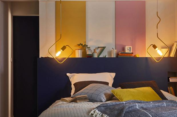 Фото №8 - Цветные сны: Color Blocking в спальне