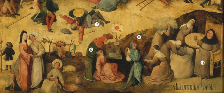 Фото №8 - Причины и последствия: обличение смертных грехов на картине Иеронима Босха