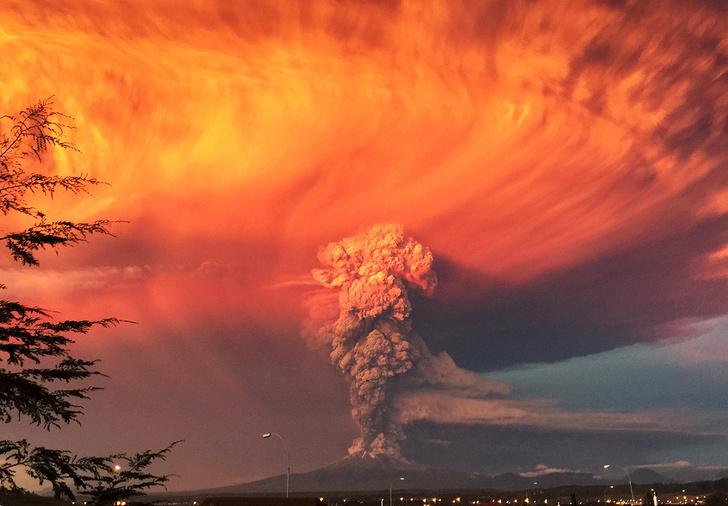 Фото №1 - Небо в огне