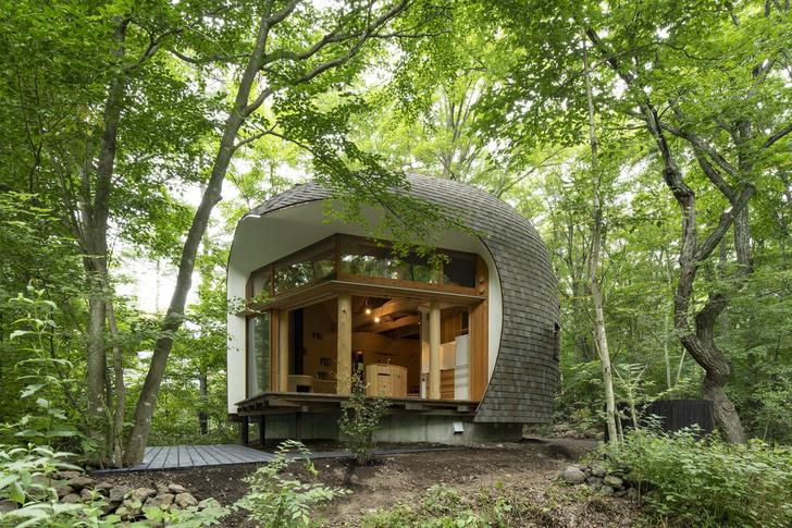 Фото №3 - Летний дом в японском лесу