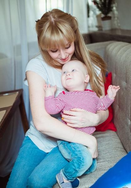 Мария с сыном Ярославом