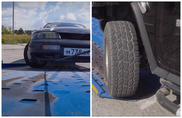 Фото №1 - Припарковать автомобиль так, чтоб не забрал эвакуатор: проверка народных лайфхаков (видео)