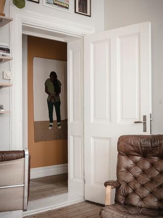Фото №7 - Уютная скандинавская квартира с микро-спальней в Гетеборге
