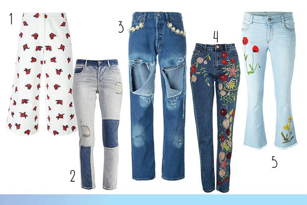 Фото №3 - Топ-15: Необычные джинсы