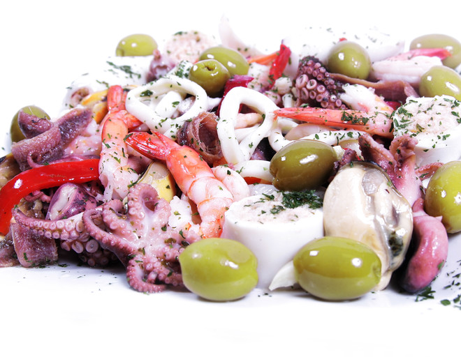 Рецепты блюд из морепродуктов морской коктейль
