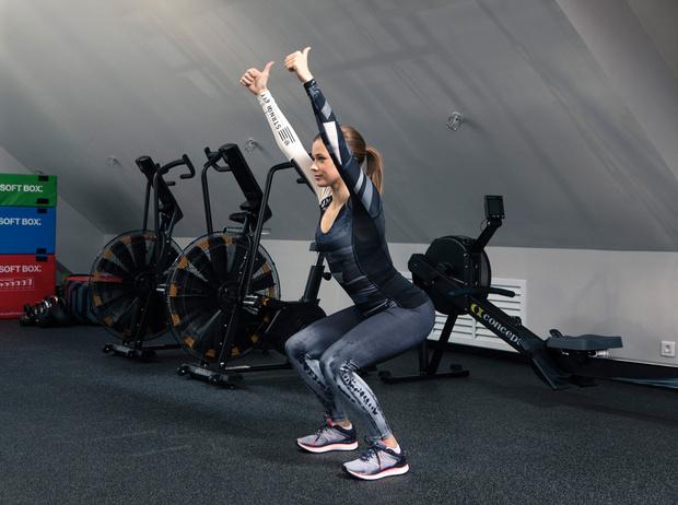 Фото №8 - Катерина Шпица: секреты красоты и комплекс упражнений для хорошей формы