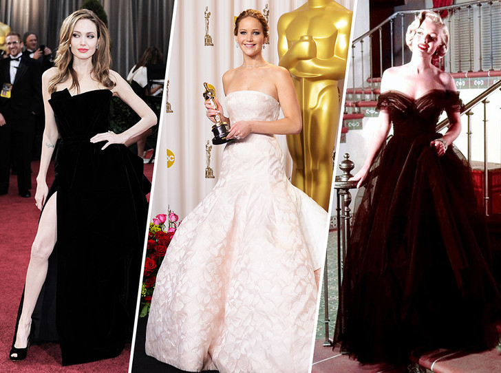 Фото №1 - Легенды «Оскара»: самые известные платья в истории премии