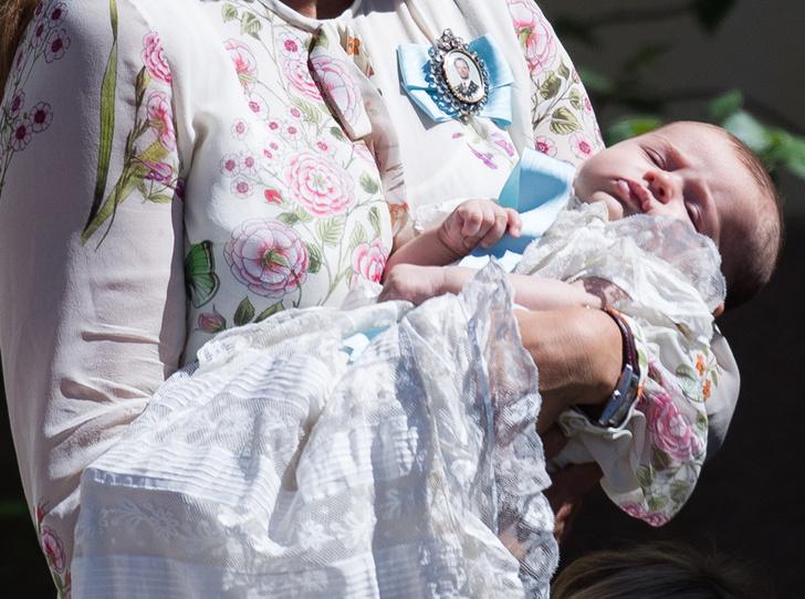 Фото №7 - Как проходило крещение шведской принцессы Адриенны