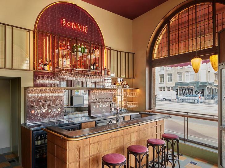 Фото №2 - Бар Bonnie в стиле ретро в Амстердаме