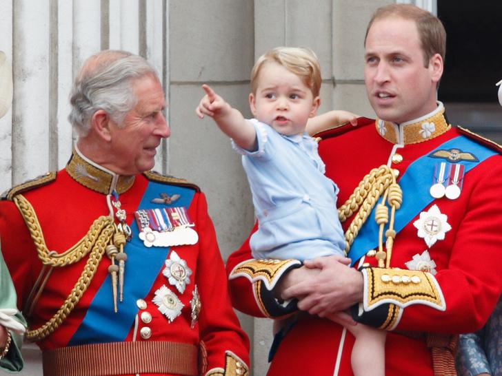 Фото №1 - Какой титул получит Джордж, когда принц Чарльз станет королем (и получит ли вообще)