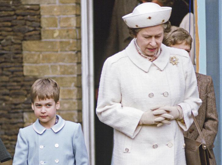Фото №1 - Непристойное поведение: почему Елизавета была возмущена воспитанием Уильяма