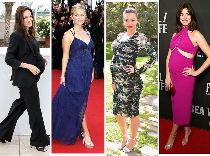 Фото №1 - Опасная высота: беременные звезды на высоких каблуках