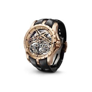 Фото №3 - Добро пожаловать в будущее: новые часы Roger Dubuis с двойным парящим турбийоном