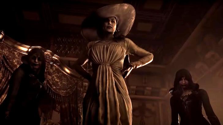 Фото №1 - Самые угарные мемы про Леди Димитреску из новой части «Resident Evil» 🔥